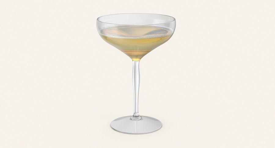 Полное шампанское купе royalty-free 3d model - Preview no. 3