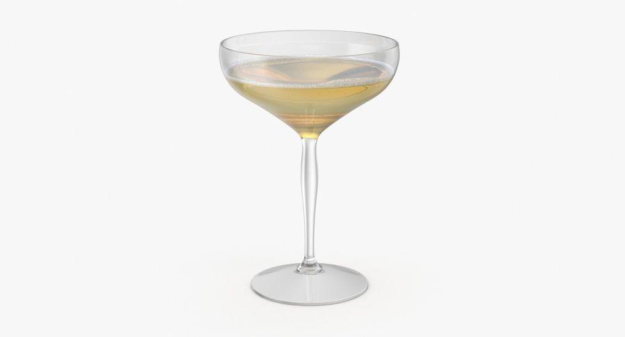 Полное шампанское купе royalty-free 3d model - Preview no. 2
