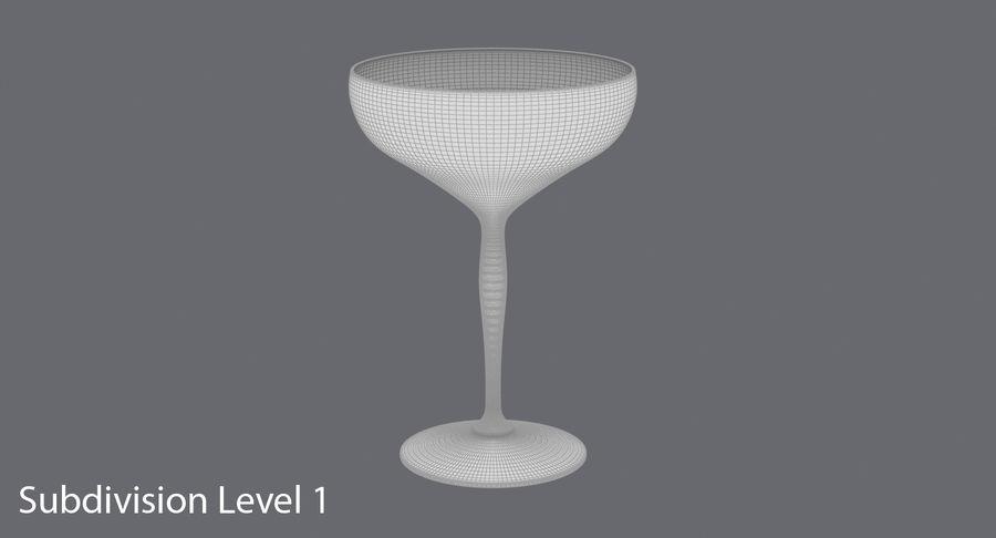 Полное шампанское купе royalty-free 3d model - Preview no. 13