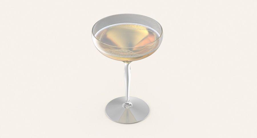 Полное шампанское купе royalty-free 3d model - Preview no. 5