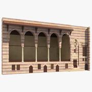 Bâtiment islamique 3d model