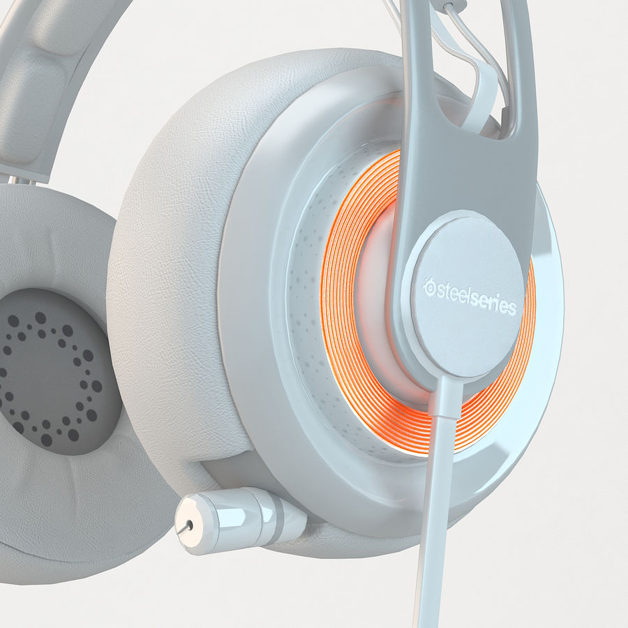 Auriculares Siberia Elite royalty-free modelo 3d - Preview no. 3