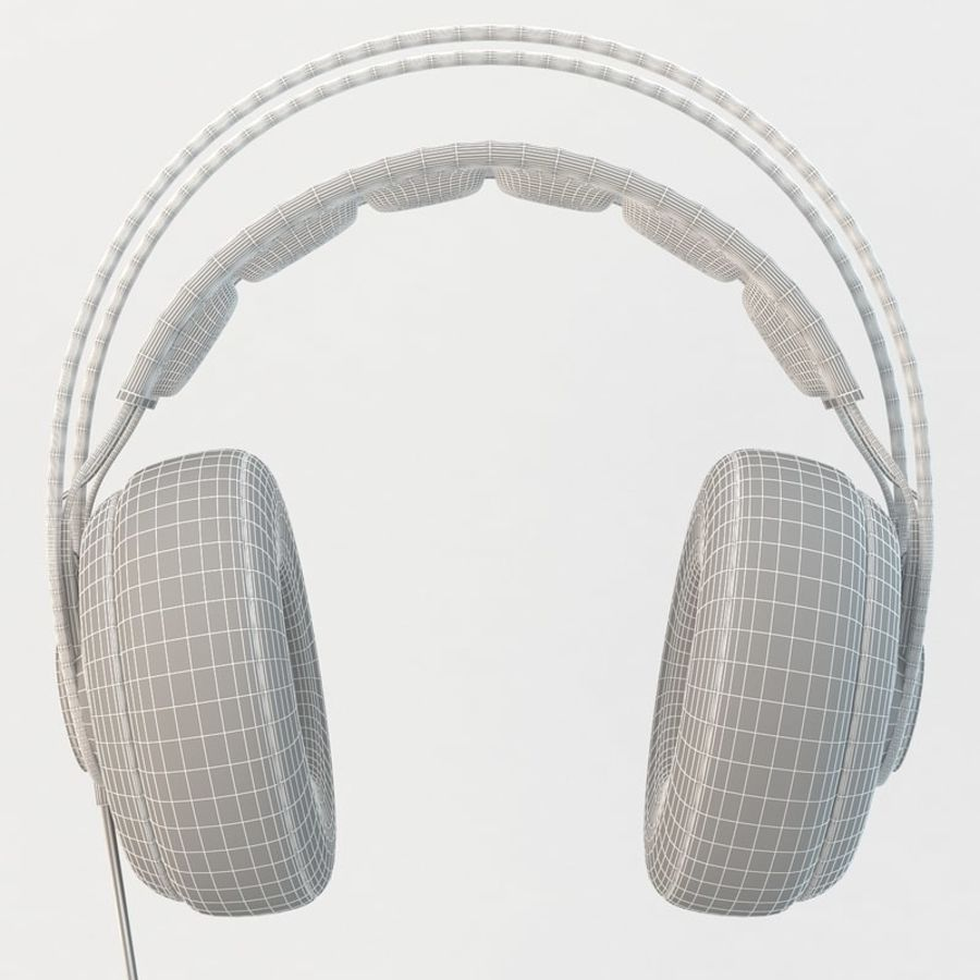 Auriculares Siberia Elite royalty-free modelo 3d - Preview no. 10
