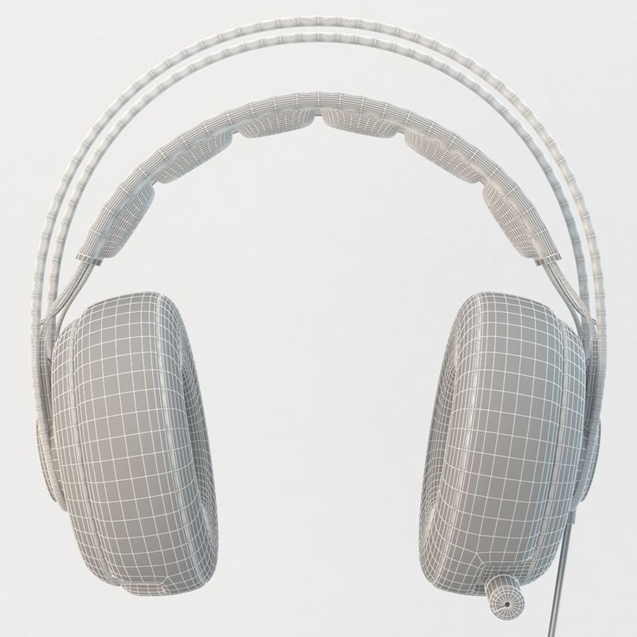 Auriculares Siberia Elite royalty-free modelo 3d - Preview no. 9