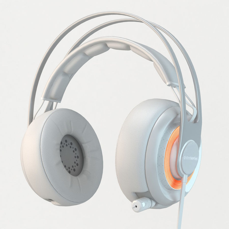 Auriculares Siberia Elite royalty-free modelo 3d - Preview no. 1