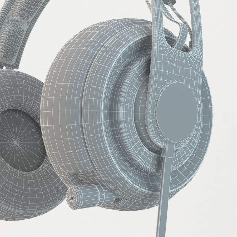 Auriculares Siberia Elite royalty-free modelo 3d - Preview no. 8