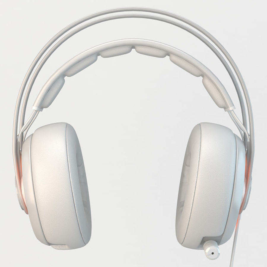 Auriculares Siberia Elite royalty-free modelo 3d - Preview no. 4