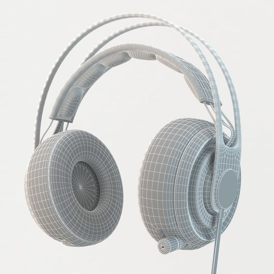 Auriculares Siberia Elite royalty-free modelo 3d - Preview no. 6