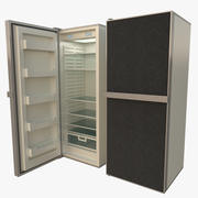 Buzdolabı dokulu 3d model