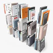 60本真实感书籍 3d model