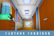卡通走廊 3d model
