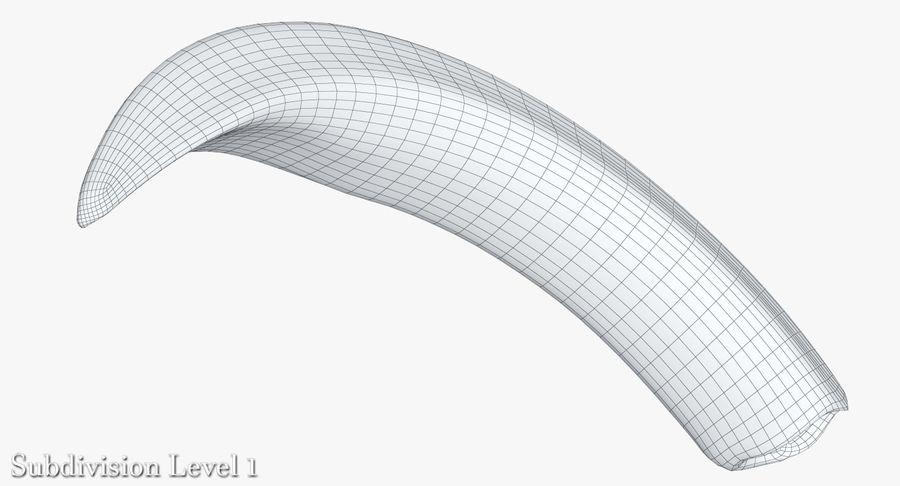 Défense de phacochère royalty-free 3d model - Preview no. 16