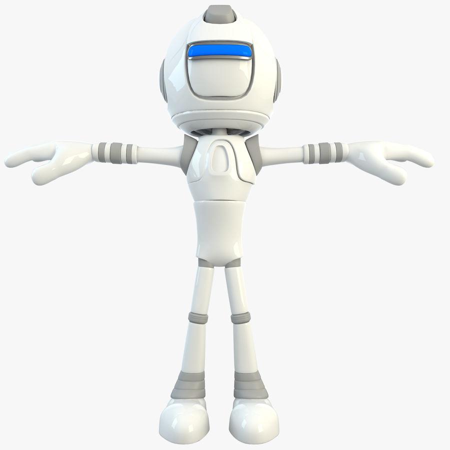 Робот Персонаж royalty-free 3d model - Preview no. 1