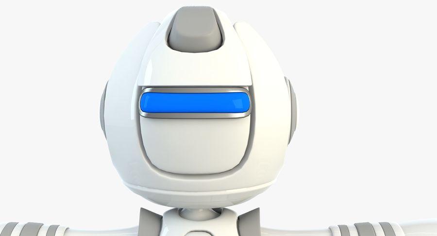 Робот Персонаж royalty-free 3d model - Preview no. 2