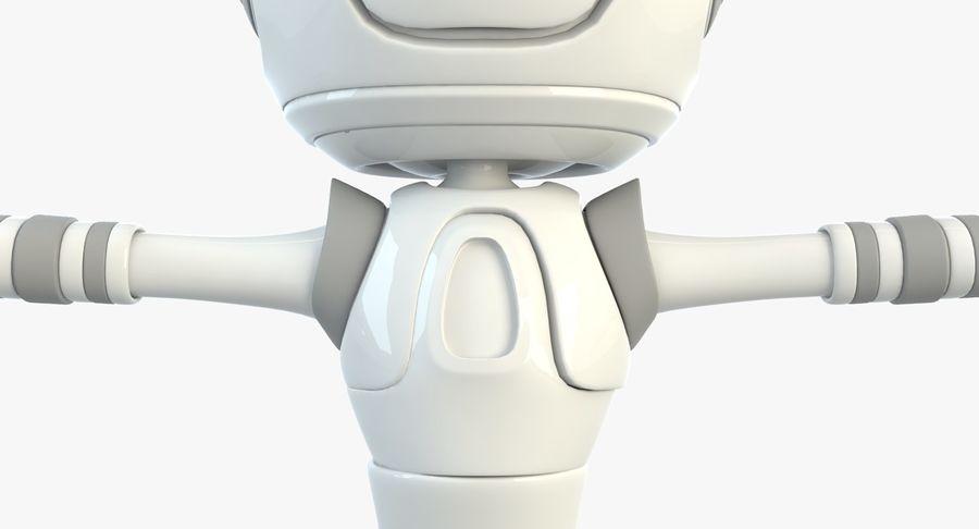 Робот Персонаж royalty-free 3d model - Preview no. 5