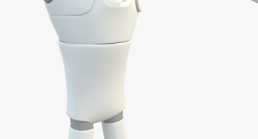 Robot Character royalty-free 3d model - Preview no. 6