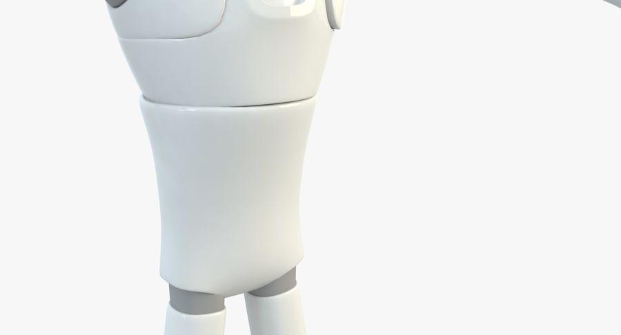 Робот Персонаж royalty-free 3d model - Preview no. 6