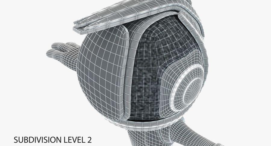 Робот Персонаж royalty-free 3d model - Preview no. 10