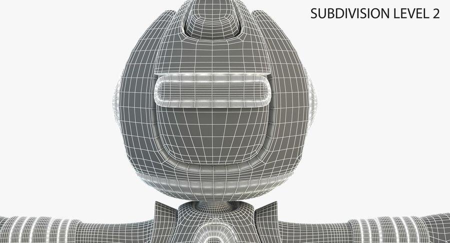 Робот Персонаж royalty-free 3d model - Preview no. 8
