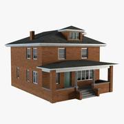 Residential House 01 3d model