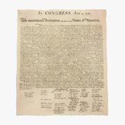 Declaration of Independence Flat 3d model