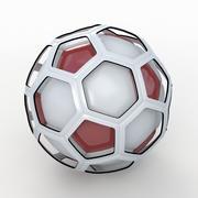 Soccerball TV show red 3d model
