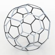 Fil de Soccerball en métal 3d model