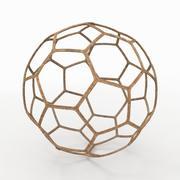 Un ballon de football 3d model