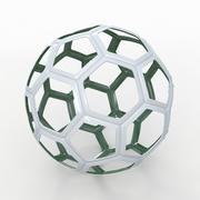 Fil de Soccerball C vert 3d model
