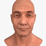 Cabeça masculina 3d model