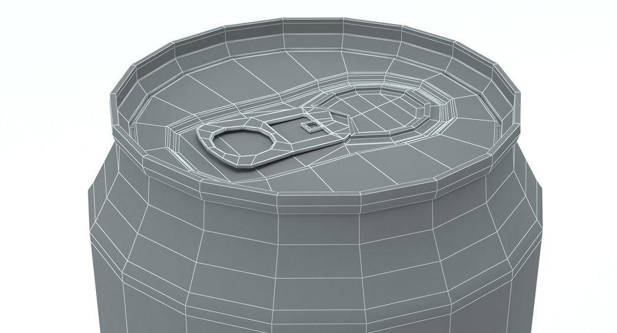 ペプシ缶 royalty-free 3d model - Preview no. 8