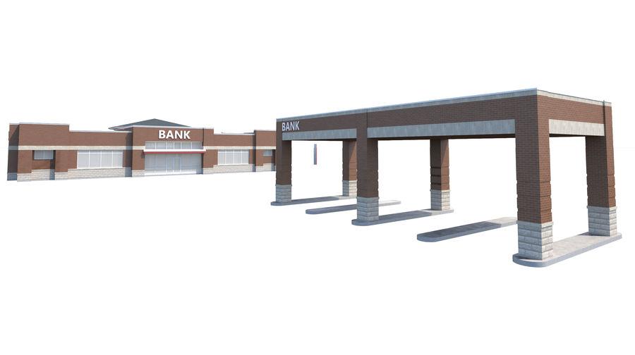 Банка royalty-free 3d model - Preview no. 7