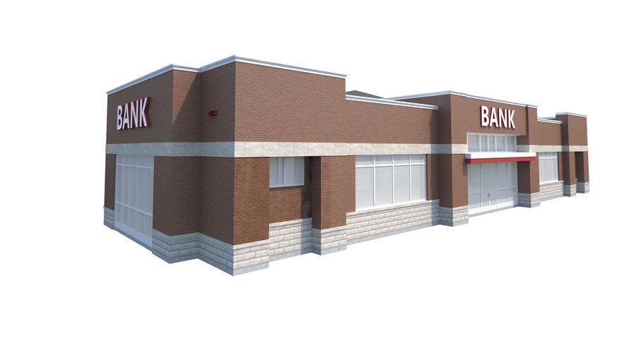 Банка royalty-free 3d model - Preview no. 6
