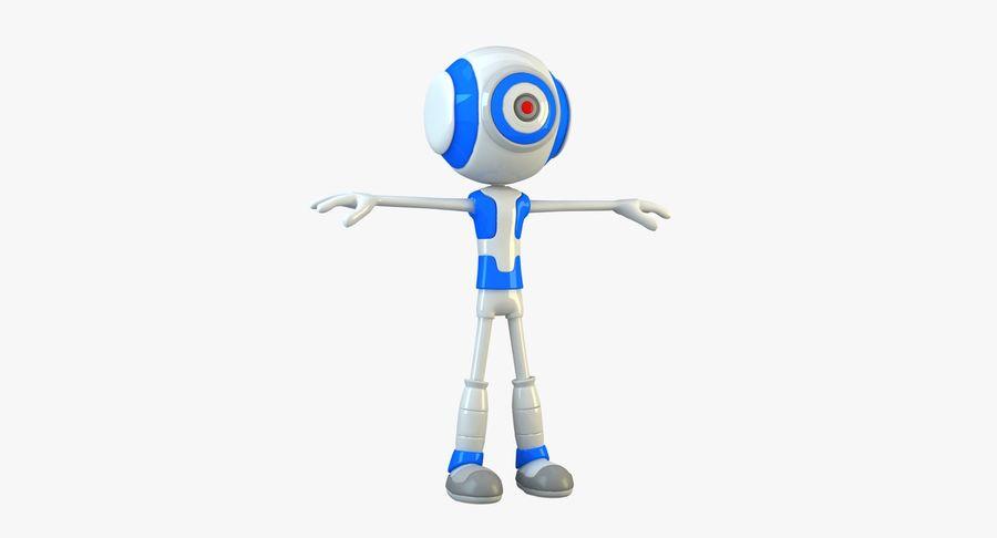 Alien Robot royalty-free 3d model - Preview no. 3