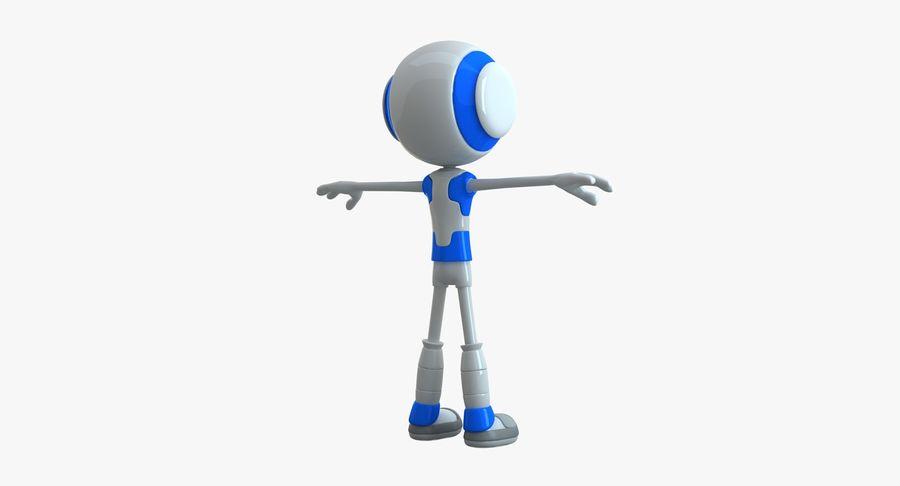 Alien Robot royalty-free 3d model - Preview no. 2