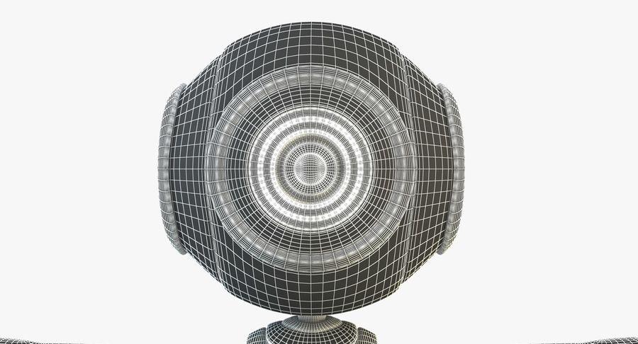 Alien Robot royalty-free 3d model - Preview no. 12