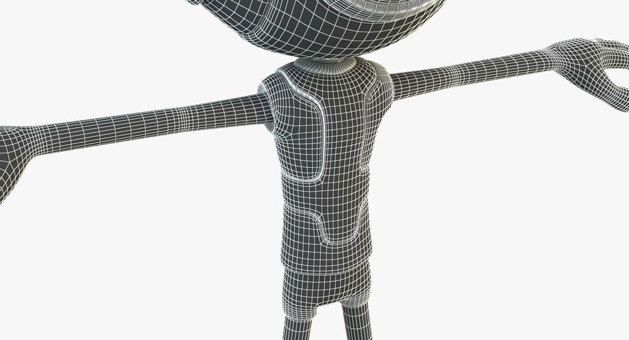 Alien Robot royalty-free 3d model - Preview no. 13