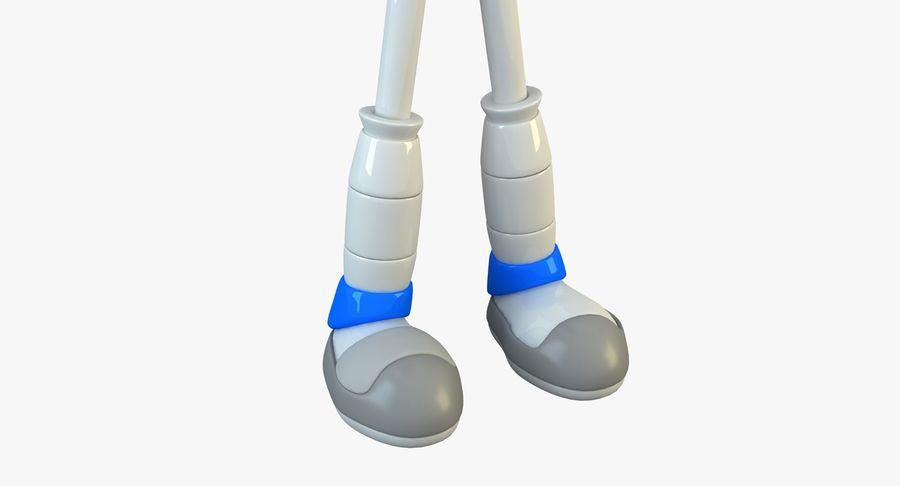 Alien Robot royalty-free 3d model - Preview no. 7