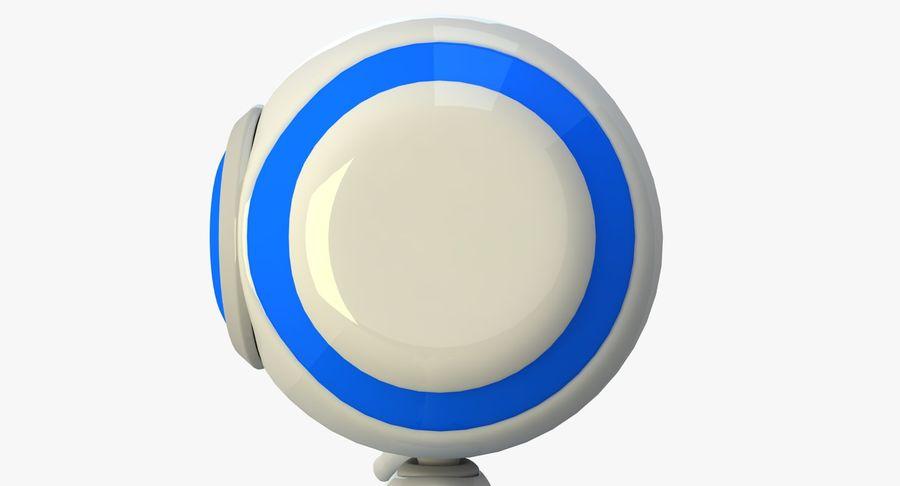 Alien Robot royalty-free 3d model - Preview no. 4