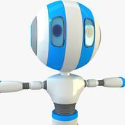 X太空机器人角色 3d model
