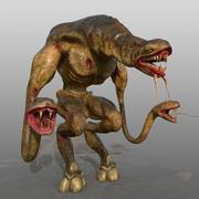 Monster snake 3d model