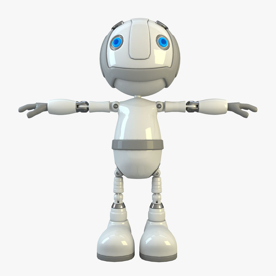 Robot Character royalty-free 3d model - Preview no. 1