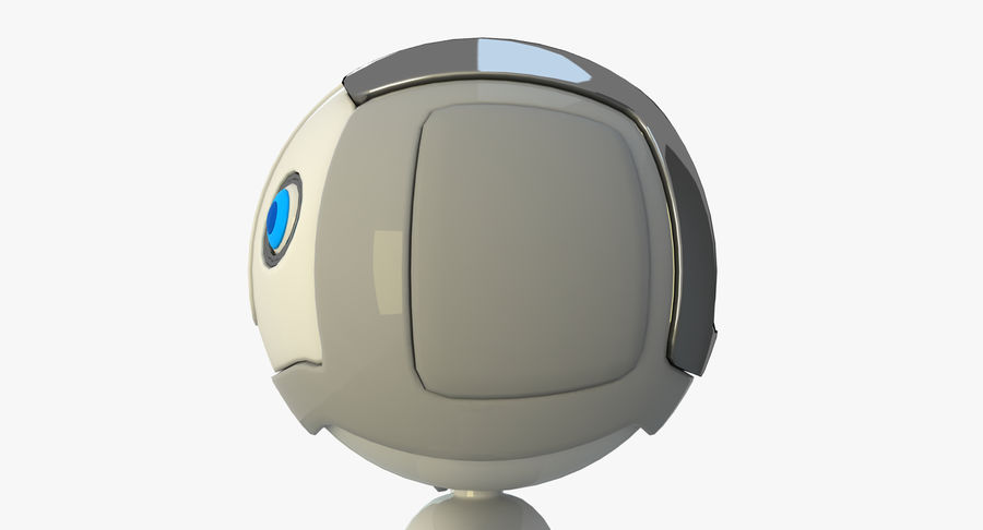Robot Character royalty-free 3d model - Preview no. 3