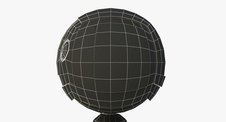 机器人角色 royalty-free 3d model - Preview no. 12