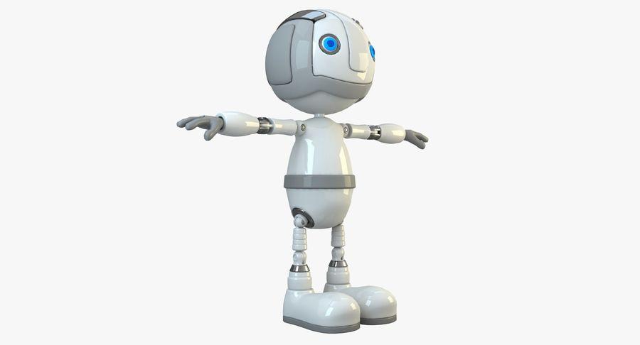 Робот Персонаж royalty-free 3d model - Preview no. 11