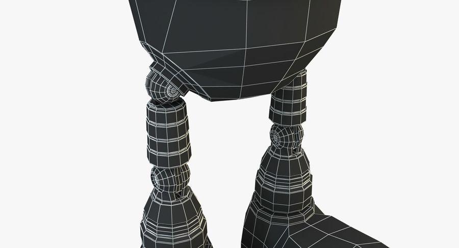 机器人角色 royalty-free 3d model - Preview no. 17