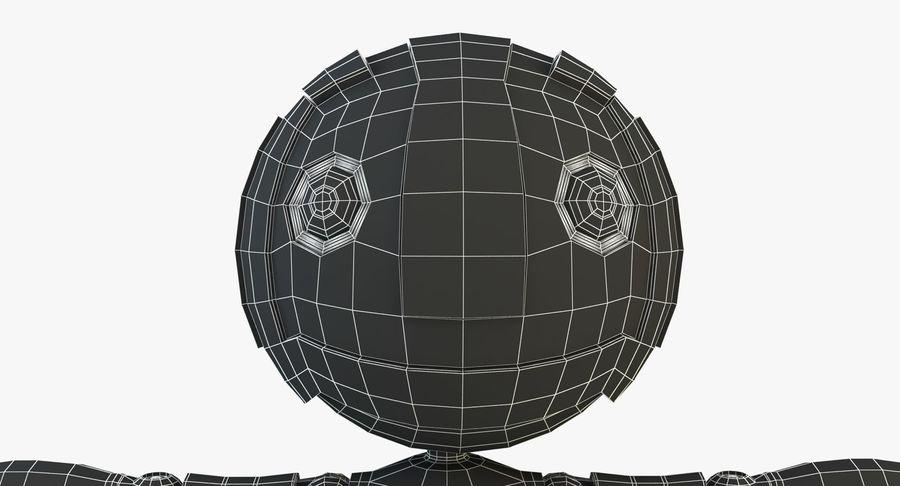 机器人角色 royalty-free 3d model - Preview no. 13