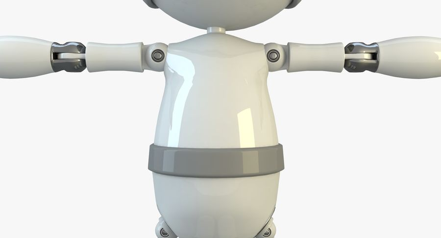 Robot Character royalty-free 3d model - Preview no. 5