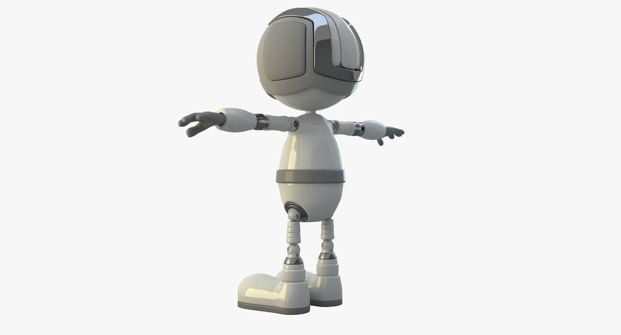 机器人角色 royalty-free 3d model - Preview no. 10