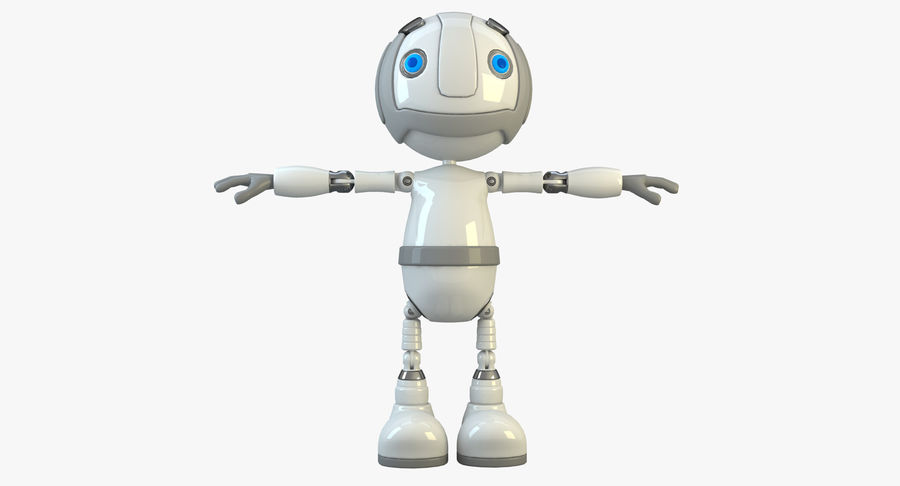 Robot Character royalty-free 3d model - Preview no. 2